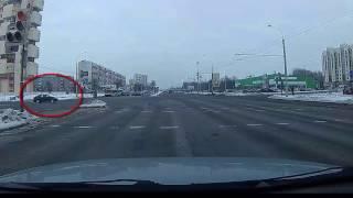 Трудности проезда перекрёстка