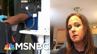 Unpaid TSA Agent: I Applied For Unemployment, Was Told I Have A Job   Velshi & Ruhle   MSNBC