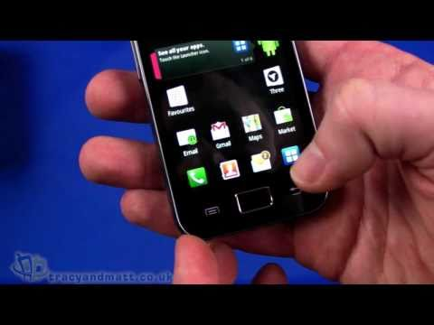 Samsung Galaxy Ace unboxing video