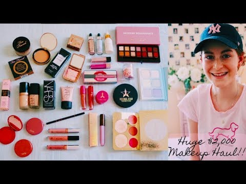 HUGE $2000 MAKEUP HAUL!!! My Make A Wish!