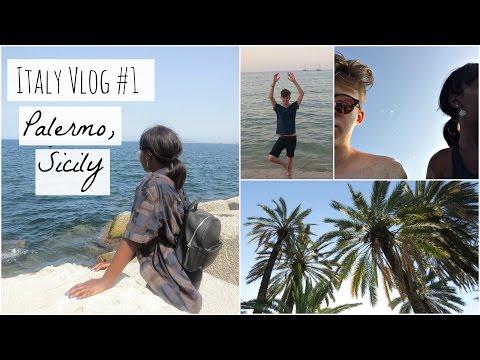 Italy Travel Vlog #1   Palermo, Sicily