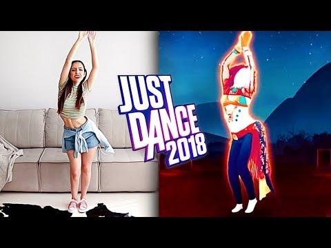 DANÇANDO NO JUST DANCE 2018 (Shakira - Hips Don't Lie)
