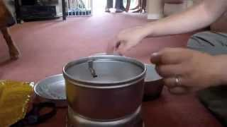 Trangia 25-1 Assembly and Packing up demo