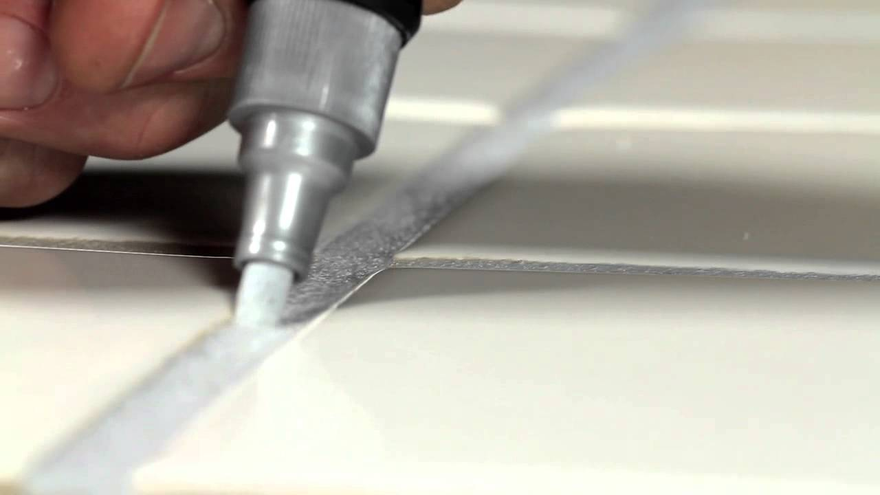 Miracle Sealants Grout Pen - YouTube