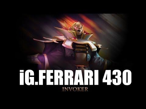 IG Ferrari 430 Invoker 23-0 Dota 2 Gameplay (PUB)
