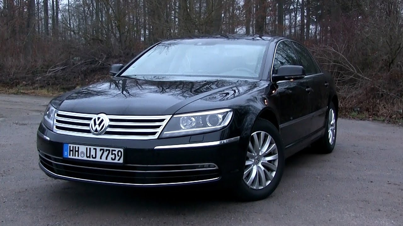2015 VW Phaeton 3.0 V6 TDI (245 HP) Test Drive - YouTube
