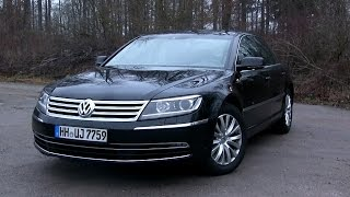 2015 VW Phaeton 3.0 V6 TDI (245 HP) Test Drive