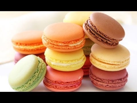 How to Make French Macarons (Salted Caramel French Macaron ...