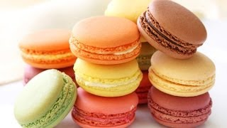 How To Make French Macarons (salted Caramel French Macaron)! - Cookwithapril