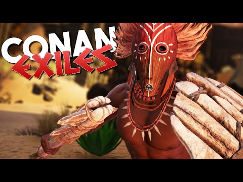 how to get started in conan exiles