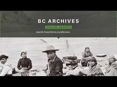 How-to: BC Archives Collections Search