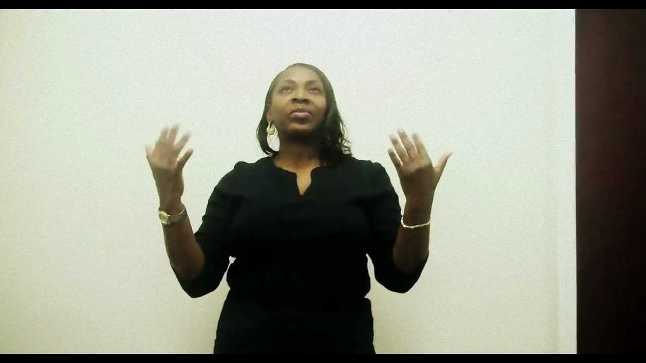 Holy Spirit - NJ Mass Choir (Interpretive Sign Language by Tamara ...