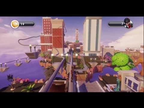 Disney Infinity - Toy Box [Bioshock Infinite - Columbia City] (Gameplay Video)