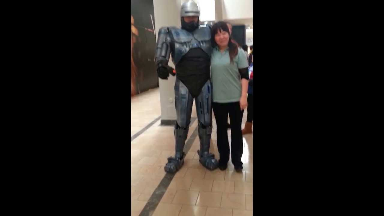 Robocop Costume Homemade Youtube