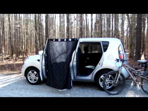Car Door Dressing Room