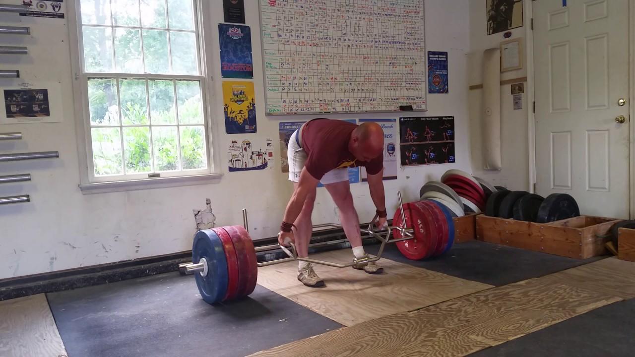 york trap bar. patrick brangus maizels 500.5lb (227kg) york trap bar dl @ mthall 7-3-17