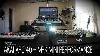 Akai MPK Mini & APC 40 Performance | TAETRO