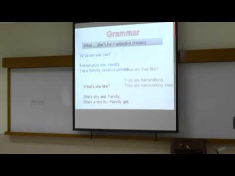 et@rmutk:smart classroom วิชาภาษาอังกฤษเพื่อการสื่อสาร สัปดาห์ที่4 1/2557