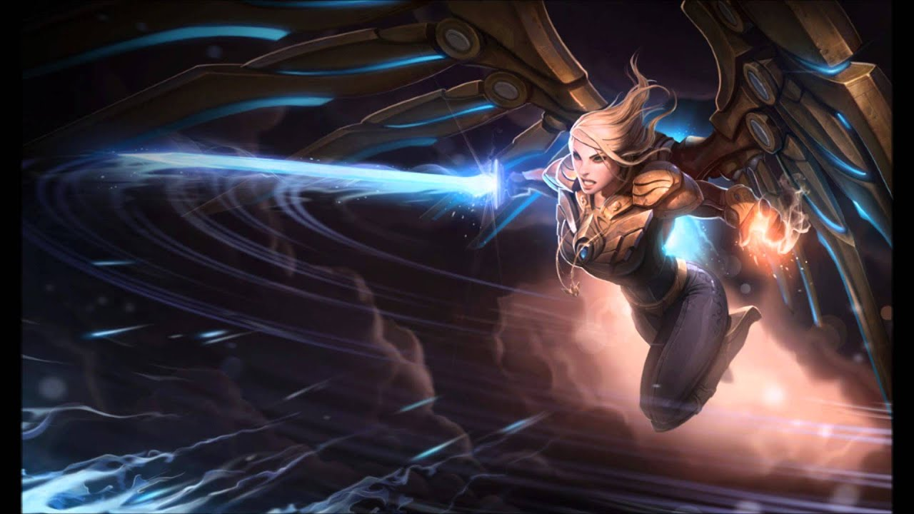 Aether Wing Kayle Login Music - YouTube