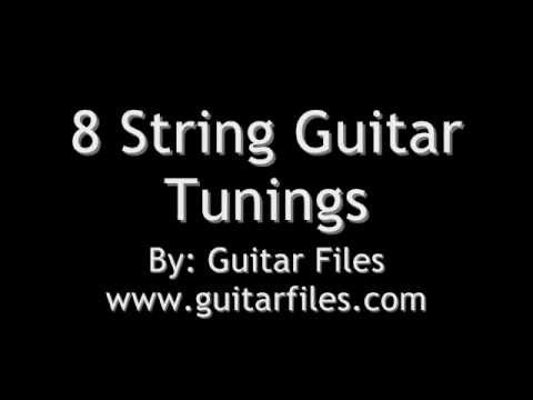 8 String Guitar Tunings