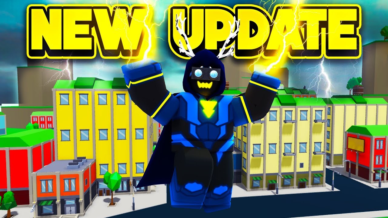 NEW VILLAIN UPDATE IN POWER SIMULATOR! (ROBLOX Power Simulator)