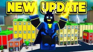 NEW VILLAIN UPDATE IN POWER SIMULATOR! (ROBLOX Power Simulator)