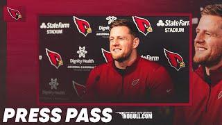 J.J. Watt's Introductory Press Conference | Arizona Cardinals
