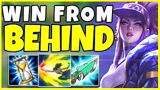 WIN ANY GAME AS AKALI FROM BEHIND (EDUCATIONAL) - League of Legends
