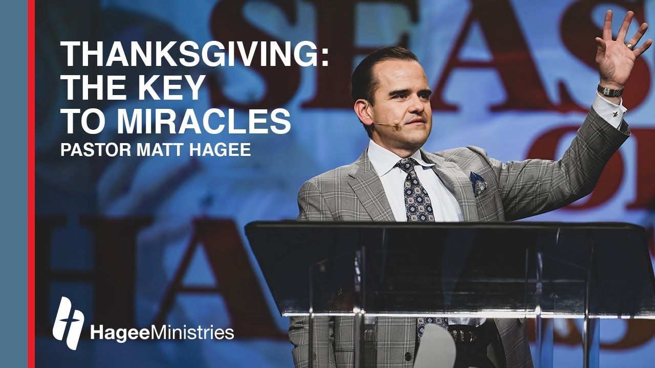 Thanksgiving: The Key to Miracles