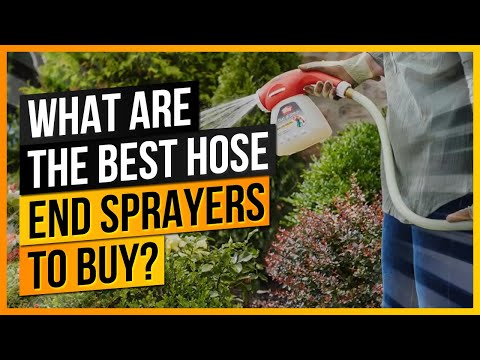 7 Best Hose End Sprayers in 2019 – Reviews and Buying Guide