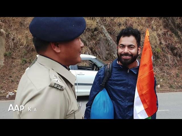 Ashish Sharma is walking 17,000 km across India (AKR Ep 14)