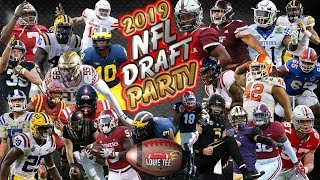 2019 NFL Draft Party LIVE!   Day 1   1st Round Reaction