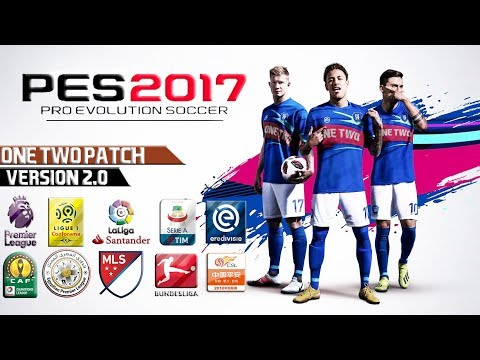 PES 2017 ONE TWO PATCH 2019 v2 By OneTwo Team