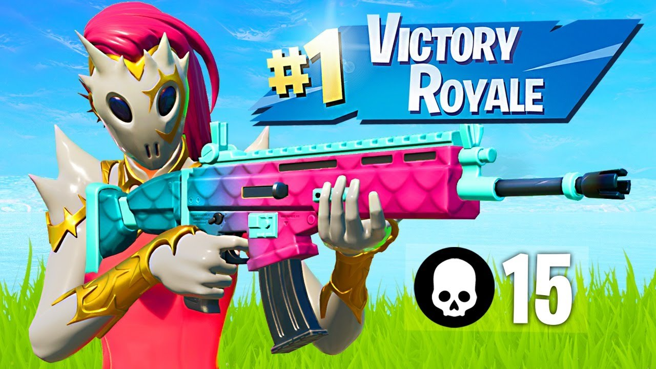 WINNING IN SOLOS!! *New Skin + Solo Tournament* (Fortnite)