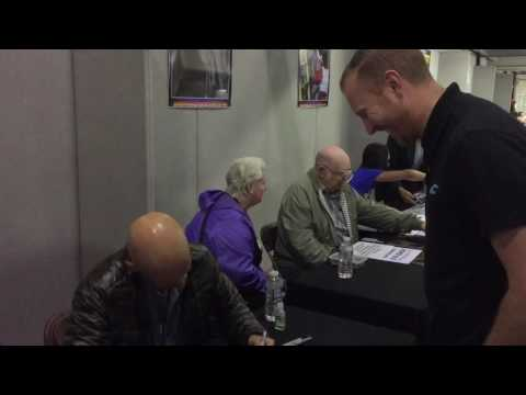 Meeting Anthony Carrigan aka Victor Zsasz from Gotham