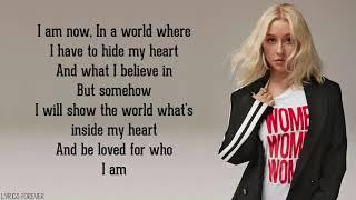 "Christina aguilera - reflection (lyrics) from ""mulan"""