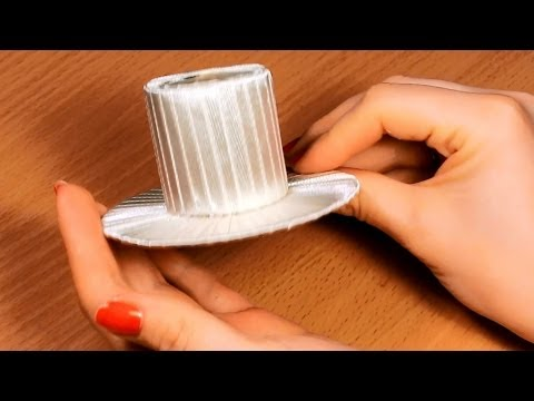 Как сделать шляпку своими руками? / Мастер Класс / Основа для Канзаши