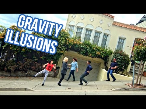 Tilting the Streets of San Francisco (Gravity Illusions on Hills Dance)