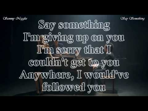 Say Something - A Great Big World & Christina Aguilera Karaoke Duet |Sing With Ian Axel|