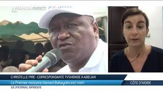 Côte d'Ivoire : réactions après la mort d'Hamed Bakayoko
