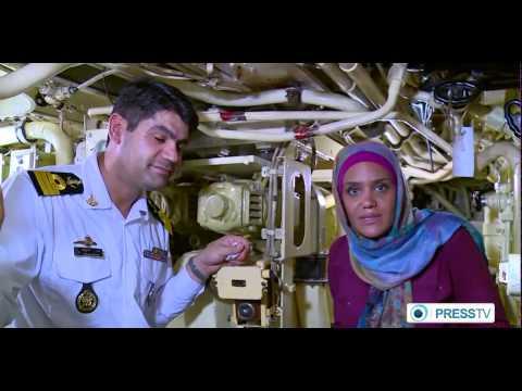 One day with Iranian Submarine commander in Persian Gulf يك روز با فرمانده زيردريايي ايراني