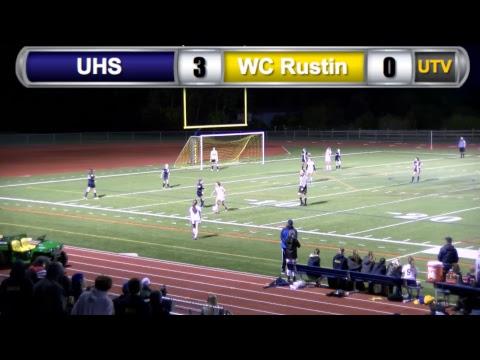 UHS Girls Soccer Playoff Game