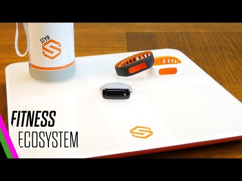 STYR Labs Wireless Scale, Activity Tracker, and Smart Water Bottle - Unboxing & Intro