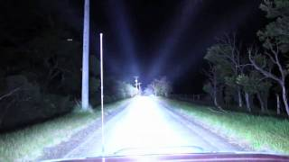 7 x 100W Xenon HID Lightforce on Nissan Patrol by HID-Lightsdownunder