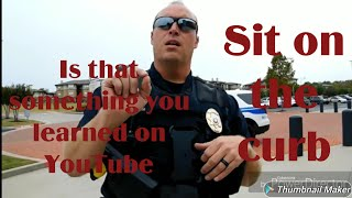 Glenpool Oklahoma Is that something you learned on YouTube unlawful detainment