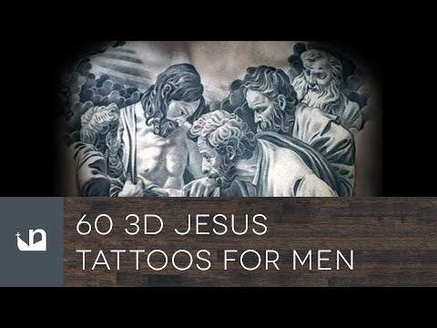 60 3D Jesus Tattoos For Men