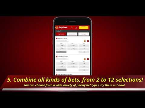 Dafasports How To Bet On Mix Parlay On Mobile Youtube