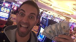 LIVE at HARD ROCK Casino in AC  Slot Machine FUN with Brian Christopher