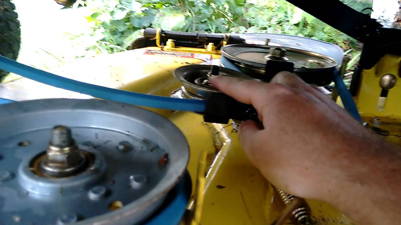 John deere l100 belt replacement youtube pooptronica