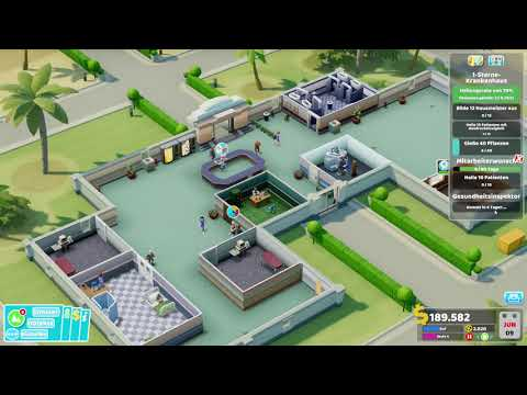 Two Point Hospital - Pebberley Island Gameplay |